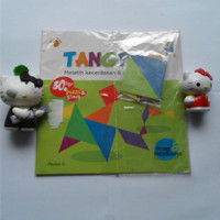 Buku Tangram melatih kecerdasan & kreativitas anak