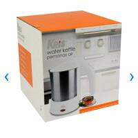 water kettle Stainless 500ml pemanas Air Teko Listrik otomatis
