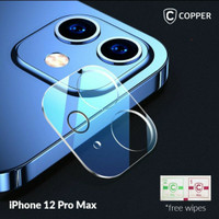 TEMPERED GLASS CAMERA IPHONE 12 PRO 6.1 FULL CURVER