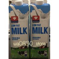 susu diamond fresh milk low fat