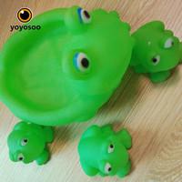 MAINAN SET BEBEK/KATAK/PIG MAINAN MANDI BAYI -YOYOSOO - KATAK