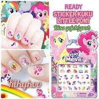 Sticker kuku little pony nail stickers little pony