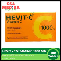 Vitamin C Hevit C 1000 mg - 1 Box/100 Tablet