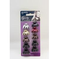 Goody classic 04899 metallic mini spider claw clips 10ct jepit rambut