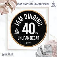 JAM DINDING 40CM / JAM DINDING UKURAN BESAR / JAM DINDING JUMBO