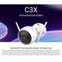 EZVIZ C3X Outdoor IP Camera CCTV Dual lens With AI Color Night Vision