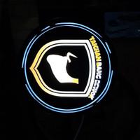 neon box murah , diameter 30 cm , 1 sisi
