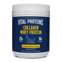 Vital Proteins Collagen Whey Protein Vanilla & Banana Cinnamon 575gr