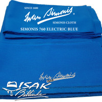 Upgrade Kain Laken Simonis 760 9 ft - Meja Biliar Billiard Pool Cloth
