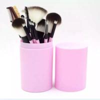 Make Up Brush Set Isi 12 Pcs Kuas Makeup Tabung