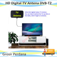 HD Digital Indoor TV Antena DVB-T2- Antena TV indoor High Gain 4k 25DB
