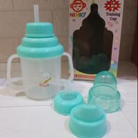 Ninio Baby Training Cup 3 in 1 F-338 - Cangkir Minum Botol Susu Bayi