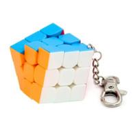 Rubik 3x3 MoYu Mini 3x3 Stickerless Keychain Gantungan Kunci Moyu Mini
