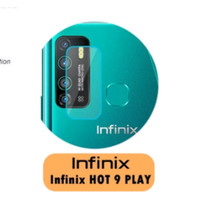 tempered glass kamera infinix hot 9 play camera lens cover original