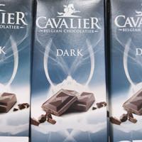 Cavalier Belgian Dark Chocolatier Sugar Free 85 gr Impor Cokelat Hitam