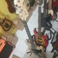 bass fender jazz natural new
