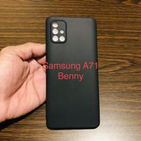 Case Samsung Galaxy A71 Softcase Slim Matte Pelindung Kamera