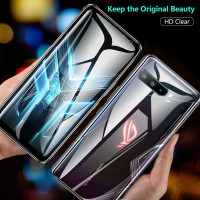 ASUS ROG PHONE 3 HYDROGEL SCREEN PROTECTOR FRONT BACK FULL ANTI GORES - CLEAR