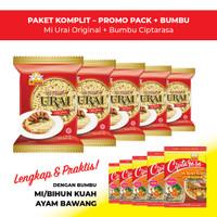 Mi Urai Original + Bumbu Ciptarasa Kuah Ayam Bawang (5 pcs)