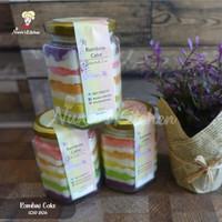 Rainbow Cake Jar