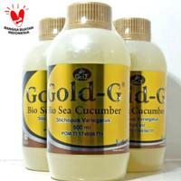 Jelly Gamat Bio Sea Cucumber Gold-G 500ml Original