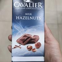 Cavalier Belgian Chocolatier Milk Hazelnut Sugar Free 85 gram Import