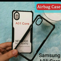 Softcase Clear Armor Bumper Transparant Samsung Galaxy A01 Core New