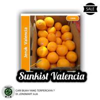 Buah Jeruk Sunkist Valencia Perbox 14kg - Jon$mart