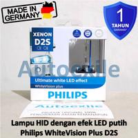 Philips White Vision Plus HID D2S Xenon LED Lampu Mazda 3 CX7 CX9 RX8