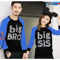 Sweater Couple LP Bro Sis Blue