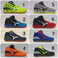 Sepatu Voli Mizuno Wave Tornado X mid olahraga volly pria wanita