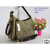 tas wanita tas gucci surya tas import tas fashion tas branded - coffee