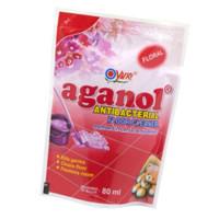 Yuri Aganol Pembersih Lantai Anti Bakteri 80 ML Refill Floor Cleaner