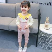 BJ313 setelan overall anak 1-4 tahun baju monyet balita perempuan kids