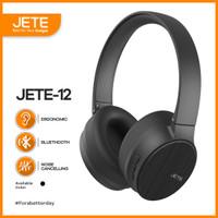 Headphone   Headset Bluetooth JETE-12 with Noise Canceling Garansi 1th