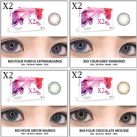 Softlens X2 Bio Four Fusion GREY CHOCOLATE MINUS ( -5.25 s/d -6.00 )