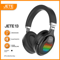 Headphone   Headset Bluetooth JETE-13 with Noise Canceling Garansi 1th