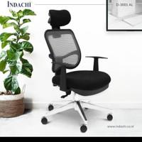 kursi kantor kursi kerja indachi D3001CR (model jaring)