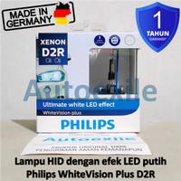 Philips White Vision Plus HID D2R Xenon LED Lampu Juke Civic Outlander