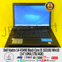 Laptop Murah Dell Vostro 14-V3490 Black Core i5 10210U Win10