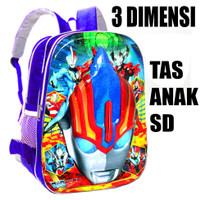 Tas anak sekolah Ultraman - Tas Ransel anak - Tas punggung Anak