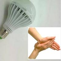 Lampu tepuk bohlam ajaib led sensor suara 15 W