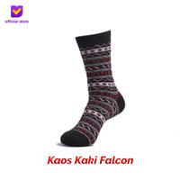 Kaos Kaki Motif Fashion Footstep Footwear - Falcon Socks