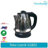 Share: Favorit (280) ARASHI S1802 Ketel Air Listrik Electric Kettle