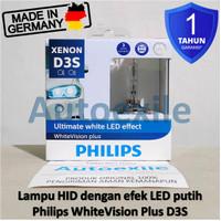 Philips White Vision Plus HID D3S Xenon LED Lampu Mobil Audi A5 A6