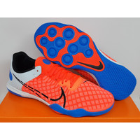 Sepatu Futsal Nike React Gato Home Crew Bright Crimson Photo Blue