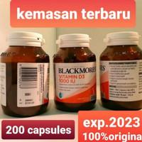 Blackmores Vitamin D3 1000UI,,200Tablet Vitamin D asli Australia