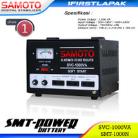 Stabilizer Samoto 1000 Va Stabiliser Stavolt Listrik SMT SVC 1000N