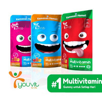 YOUVIT Multivitamin For Kids Vitamin Anak Pouch isi 30 pcs - 1 bulan