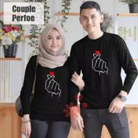 Sweater Couple LP Saranghae Black